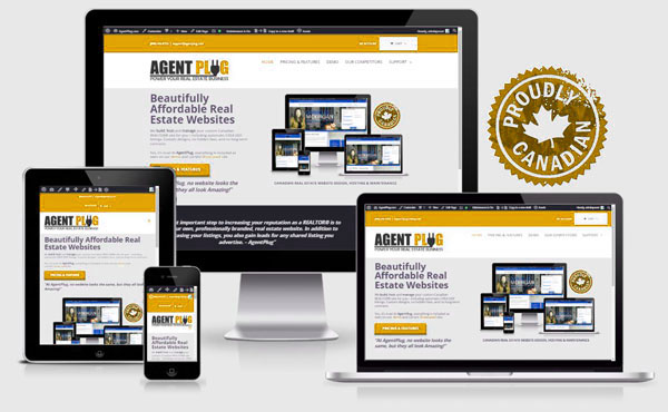 brokerage real estate website design