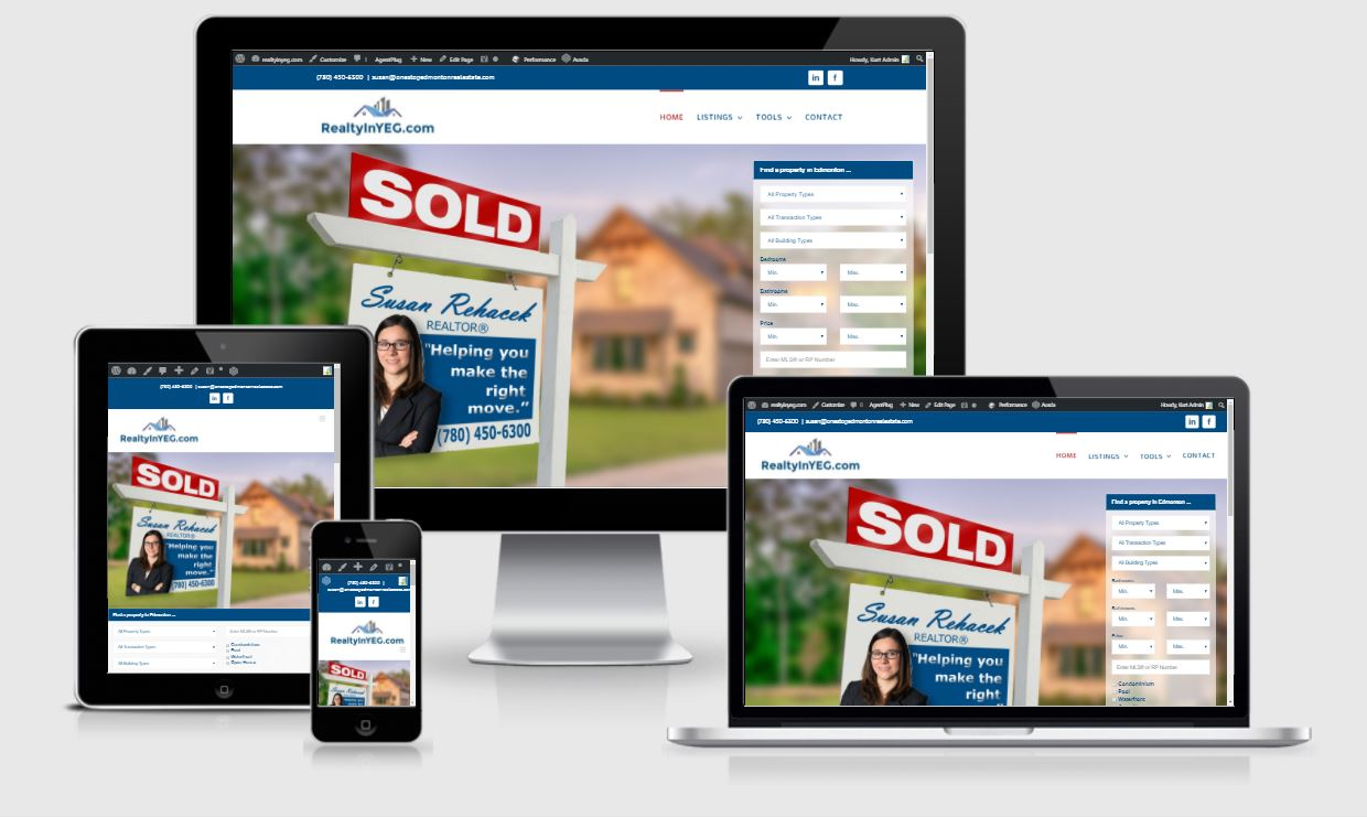 realtor website developer canada