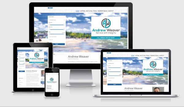 broker website design