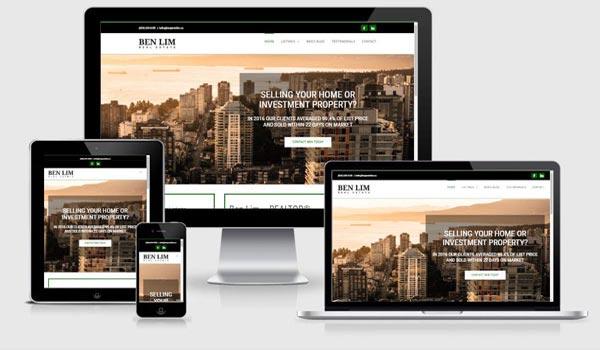 realtor website developer