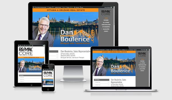 dan boulerice real estate website