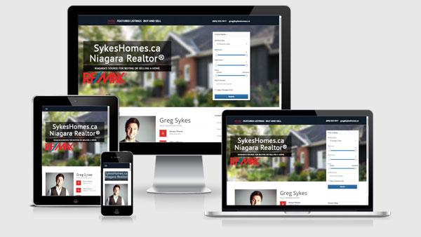 real estate website developer greg sykes realtor