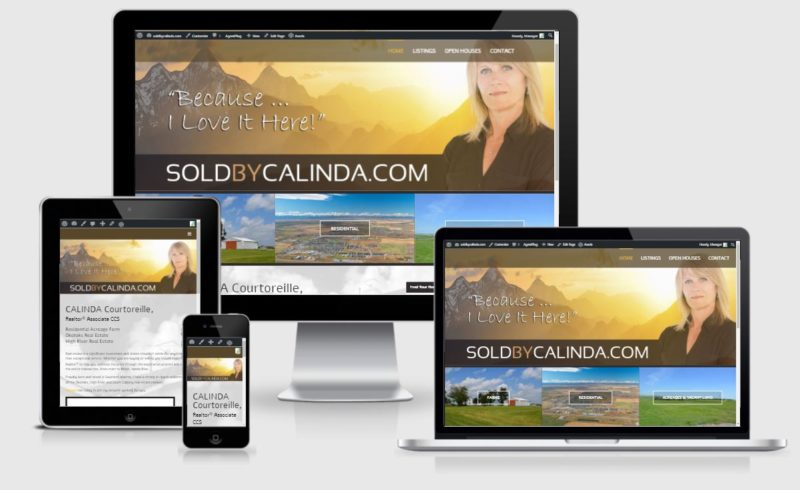 real estate website developer canada