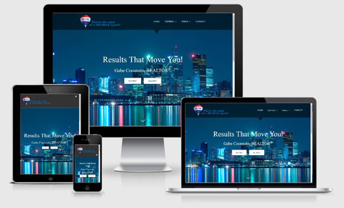 Gabe Cocunato realtor website design canada crea ddf