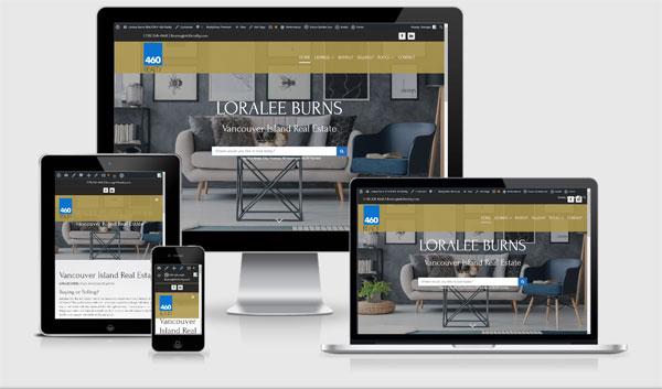real estate website developer canada