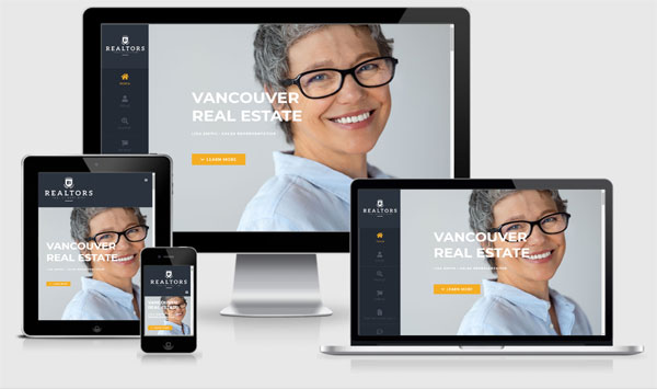 canadian realtor website developer