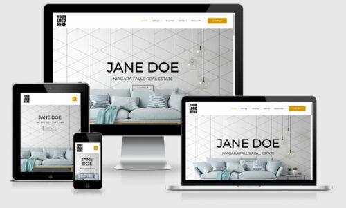 canadian real estate web site developer